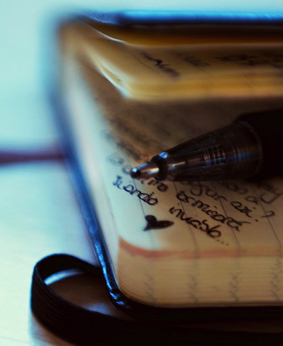 write - tulis by Insomnia PHT - flickr